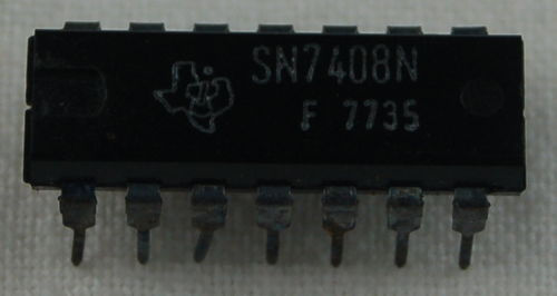 IC-14 AND 7408 5V